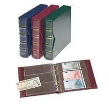 Lighthouse - Classic Numis BANKNOTE Album and Pages With Slipcase  - GREEN