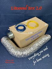 NEW LiteSound Box 2.0 - Antminer - Innosilicon - Noise - Sound Proof - Silencer
