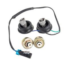 Knock Sensors with Harness Pair Kit for Chevy Silverado 1500 GMC Sierra Hummer