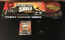 TONY HAWK SHRED PS3 Game with Wireless Interactive Skateboard & USB Receiver