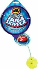2 X Hula Skipper Light up Skipping Ankle Hoop Rope Ball Playground Game Toy Girl
