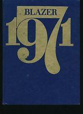 Tulsa OK Lewis and Clark Junior High School yearbook 1971 Oklahoma  Grades 9-7