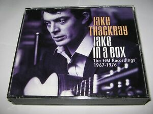 JAKE THACKRAY : JAKE IN A BOX (THE EMI RECORDINGS 1967-1976) 4 CD SET 4 Albums +