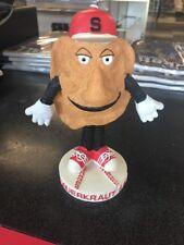 2004 Pittsburgh Pirates Baseball SAUERKRAUT SAUL Pierogy Bobble Head B98