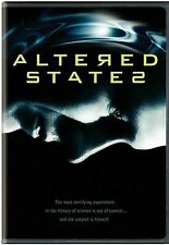 Altered States (DVD)  VERY GOOD DISC + COVER ART ONLY - NO CASE