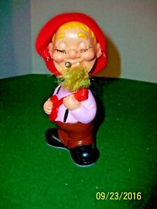 Vintage Alps Key Wind Up Toy Hill Billy made in Japan