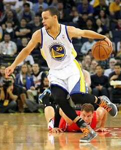Stephen Curry Unsigned 8x10 Golden State Warriors (4)