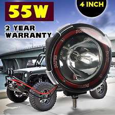 4'' 4x4 OffRoad 55W Round HID Fog Headlight Spot Light Offroad Jeep ATV SUV Boat