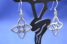 Sterling Silver (925) Celtic Style Knot Earrings