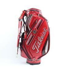 Titleist Staff Cart Caddy Golf Bag, CB610 JP, in red, NEW
