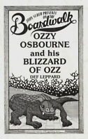 OZZY OSBOURNE / RANDY RHOADS / DEF LEPPARD 1981 BOARDWALK / ASBURYPARK PROGRAM