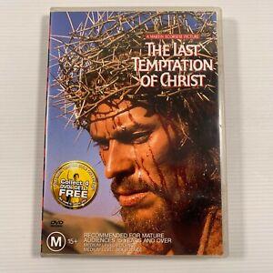 The Last Temptation of Christ (DVD 2001) 1988 film Willem Dafoe Region 4