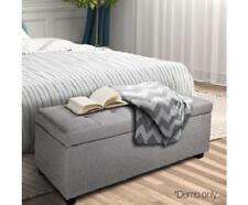 Grey Bedroom Ottomen