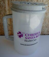 Plastic Insulated Christus Santa Rosa Thermo 30oz Mug & Lid with Straw