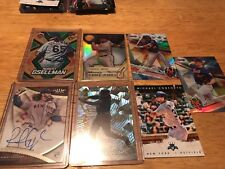 New York Mets Team Lot (7) 1 Auto 1 Numbered 3 Refractors 1 Cracked Ice