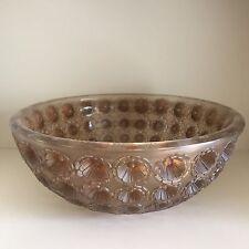 Coupe Nemours René Lalique R.Lalique Frosted Glass Bowl