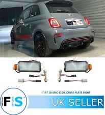 Fits Fiat 500C 312 1.4 White 6-SMD LED 39mm Festoon 12v Number Plate Light Bulbs