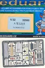 eduard A-7E Corsair II SJU-8 for Seatbelts Gurte Ätzsatz 1:32 Trumpeter NEU OVP