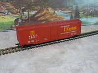 1/87 HO Tyco Santa Fe El Capitan 50 ft PD Boxcar Road # 49277
