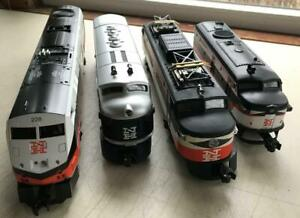 (4) New Haven Trains and Cars-Lionel, Williams, Unbranded