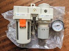 """Torita 1//2/"""" BSP Regulador De Aire Comprimido//filtro neumático con calibre FR308G"""