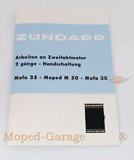 Zündapp Bergsteiger Ciclomotore M 25 50 Motore Riparazione Istruzioni Dati