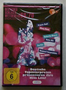 Deutscher Schlager Wettbewerb 1968 - 70 Endausscheidung  Doppel DVD Neu OVP