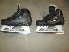 New listing Bauer Ice hockey Goalie skates jr junior S27 sz 1.5