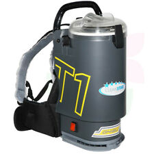 GHIBLI T1V3 Commercial Backpack Vacuum Cleaner, Charcoal - Free Shipping