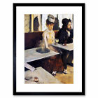 Edgar Degas The Absinthe Drinker 1876 Old Master Framed Wall Art Print