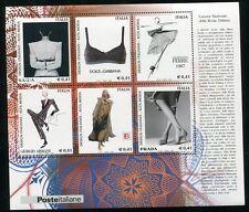 ITALY STAMP 2002 DESIGN ITALIANO (ALTA MODA) COSTUME FASHION S/S SHEET