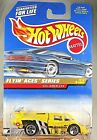 1998 Hot Wheels #739 Flyin Aces Series 3/4 SOL-AIRE CX4 Yellow w/Chrome 5 Spoke