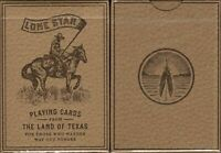 Lone Star Playing Cards Deck Poker Size USPCC Deluxe Limited Edition New Sealed