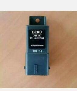 Glow Plug Control Unit fits RENAULT MASTER Mk2 2.5D ECU Beru Quality Guaranteed