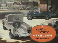 LAND ROVER 1954 SERIES-I '107' RETRO POSTER PRINT CLASSIC ADVERT A3