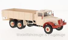 47029 TATRA 111 Blanco Rojo Plataforma, 1:43 , Premium Classixxs