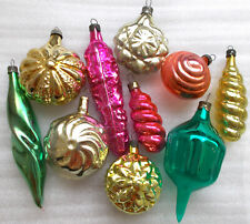 10 Antiker Alter Christbaumschmuck Glas Weihnachtsschmuck Christmas Ornaments