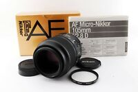 """Near Mint w/Box"" Nikon AF Micro NIKKOR 105mm f/2.8 D Macro Lens From Japan"