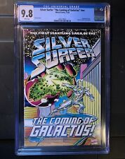 Silver Surfer The Coming Of Galactus #nn CGC 9.8 Wraparound Cover 1992