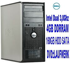 Computer PC Rechner GAMER PC Intel Dual 2x3,00Ghz 6000+Ghz 4000MB 4GB DELL Nr1