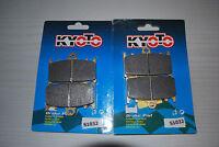 FRONT DISC BRAKE PADS KAWASAKI ZZR600 D1-D3 E1-E13 SEMI METALLIC 1990 TO 2007