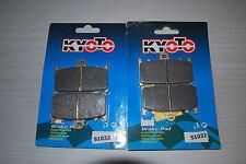 Frente Pastillas de freno Para KAWASAKI ZZR1100 Semi Metallic 1990 a 2001