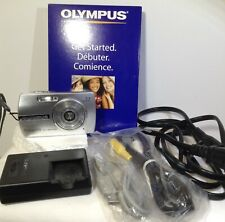 Olympus Stylus 700 Digital 7.1MP Camera - Battery/Charger/Cables - preowned