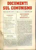 1973 Politica  Documenti sul Comunismo Distensione o Lotta Ideologica