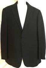 Armani Collezioni Giorgio Suit Sport Jacket Blazer Black Wool sz 40 Designer