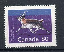 Weeda Canada 1180c VF mint NH 80c Peary Caribou, scarcer perf 14.4 x 13.8 CV$7.5