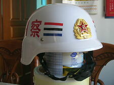 07's series China PLA Army,Navy,Air Force,2nd Artillery MP Helmets,White.