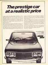 1973 FIAT 132  ~  NICE ORIGINAL EUROPEAN PRINT AD