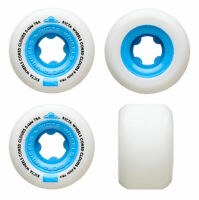 Ricta Skateboard Wheels 54mm Cored Clouds 78A Blue Soft Cruiser