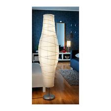 NEW IKEA DUDERO FLOOR LAMP SILVER,WHITE GIVES A SOFT MOOD LIGHT